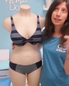 bikini righe